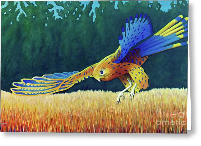 With These Wings Greeting Card by Brian Commerford