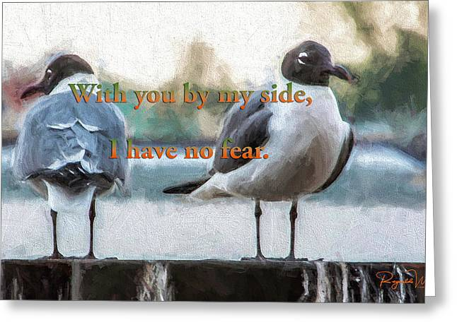 With You At My Side Greeting Card