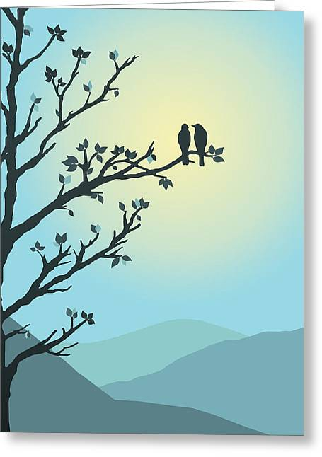 With You By My Side Greeting Card