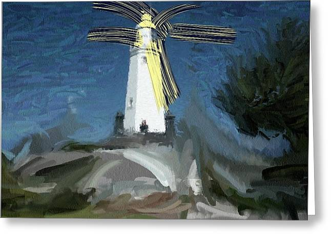 Withernsea Lighthouse Greeting Card by Phil Ward