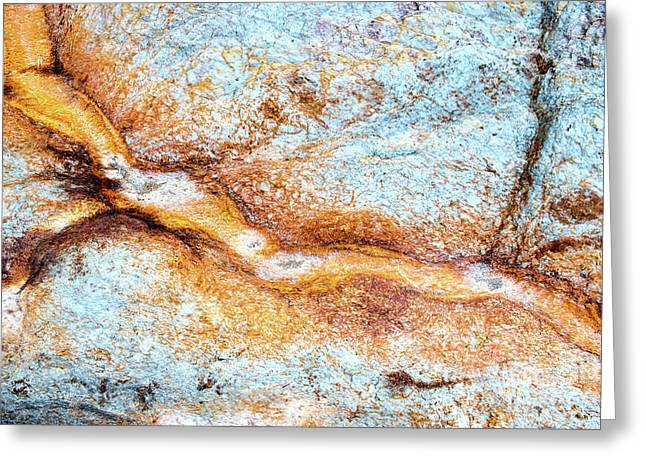 Within The Rock Itself Greeting Card by Tim Gainey