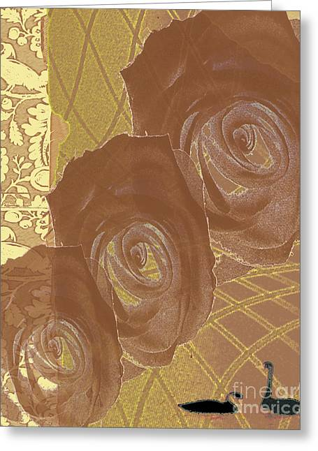 Witness Greeting Card by Pederbeck Arte Gruppe