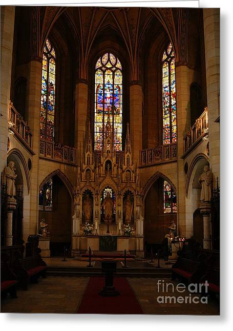 Wittenberg Castle Church 5 Greeting Card
