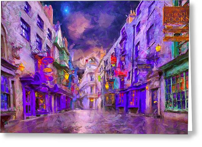 Wizard Mall Greeting Card