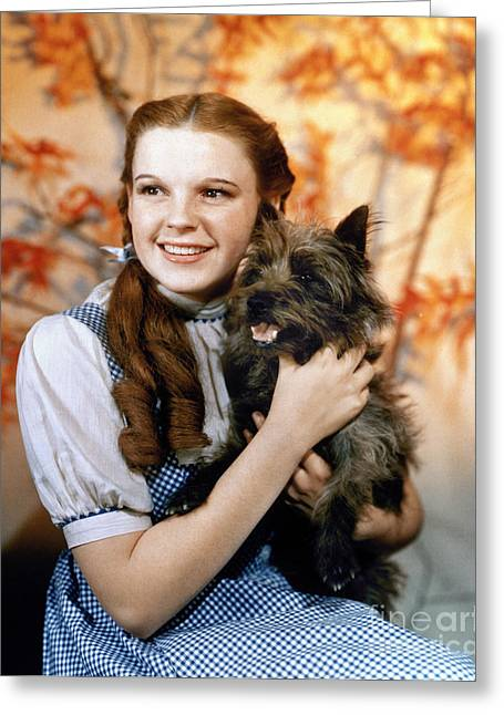 Character Portraits Greeting Cards - Wizard Of Oz, 1939 Greeting Card by Granger