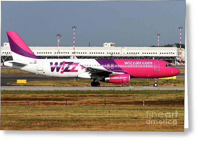 Wizz Air Airbus A320-232 Greeting Card