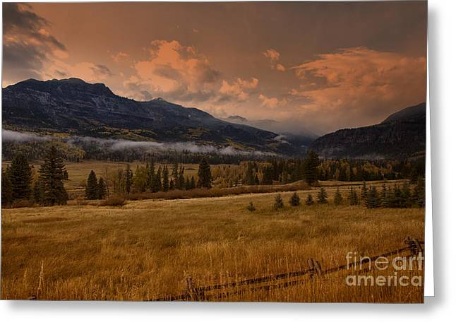 Wolf Creek Greeting Cards - Wolf Creek Pass Greeting Card by Timothy Johnson