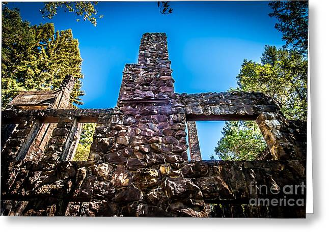 Wolf House Chimney Greeting Card