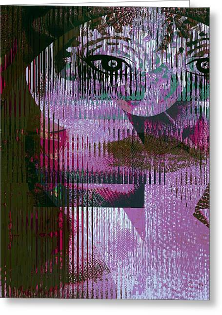 Woman - Art And Theory Greeting Card by Fania Simon