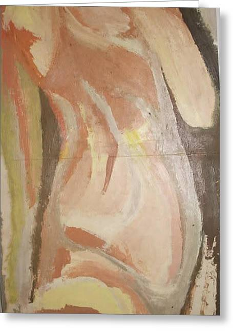 Woman 2 Greeting Card by William Douglas