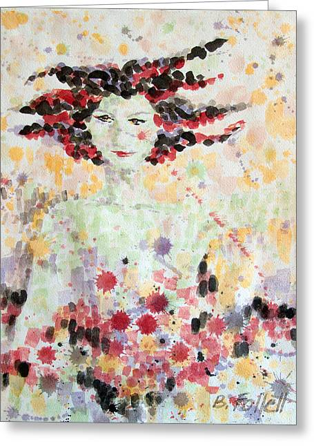 Woman Of Glory Greeting Card