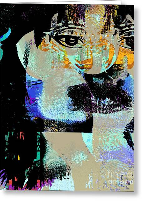 Womanhood Not For Sale Greeting Card by Fania Simon