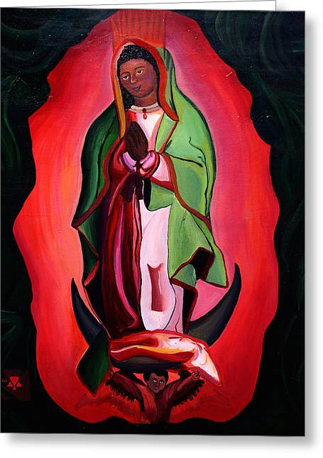 Woman's Religion Greeting Card by Alexis Keys Art