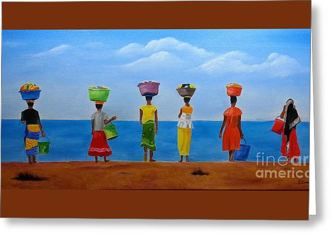 Women Of Africa  Greeting Card