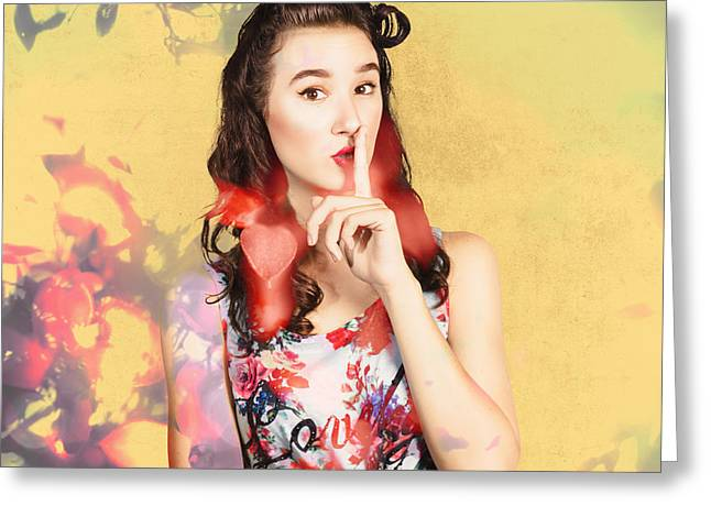 Women Style Secrets Greeting Card by Jorgo Photography - Wall Art Gallery