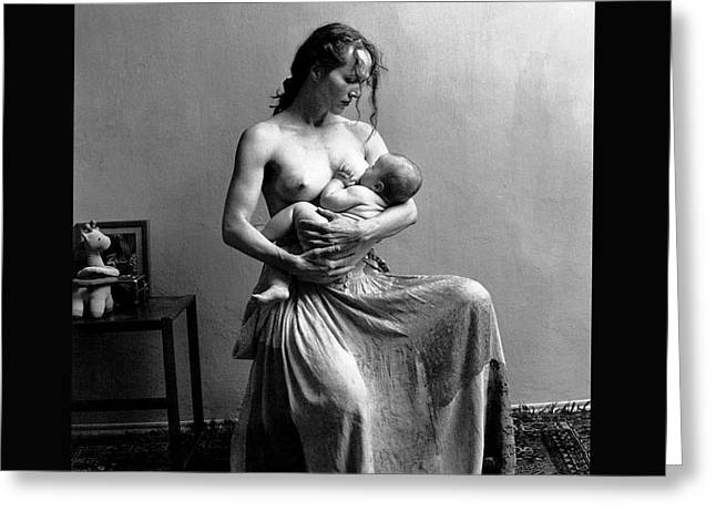 Women The Nourishment Of The World Greeting Card by Pg Reproductions