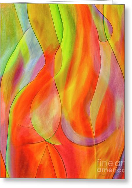 Women's Shapes 2 Greeting Card