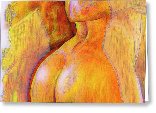 Women's Shapes 4 Greeting Card