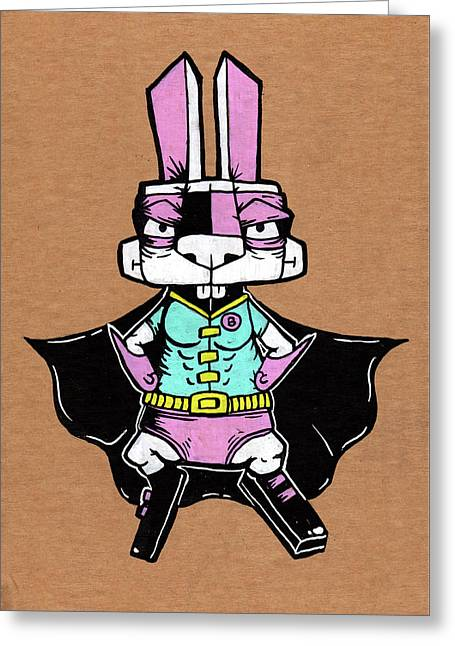 Wonder Bunny Greeting Card