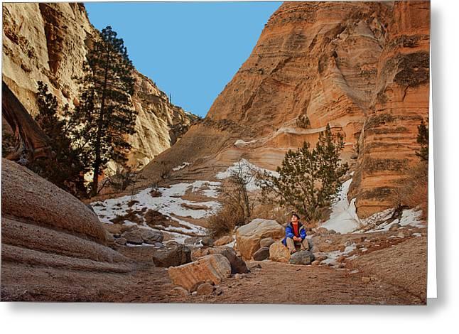 Wonder - Tent Rocks - New Mexico Greeting Card