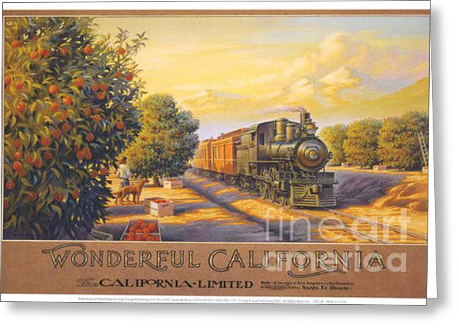 Wonderful California Greeting Card