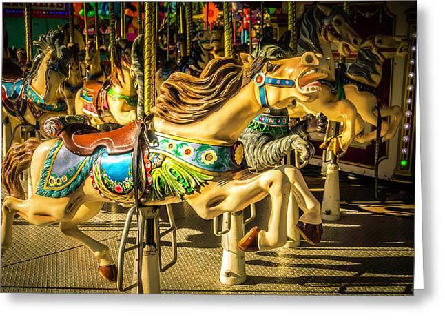 Wonderful Horse Ride Greeting Card