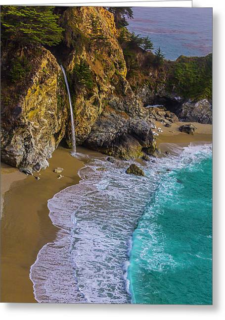 Wonderful Mcway Falls Greeting Card