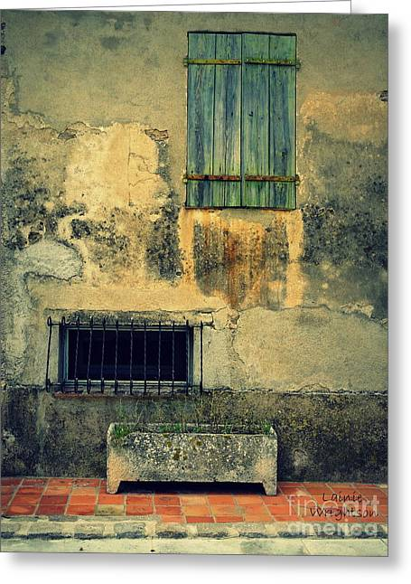 Wonderfully Weathered  Greeting Card by Lainie Wrightson