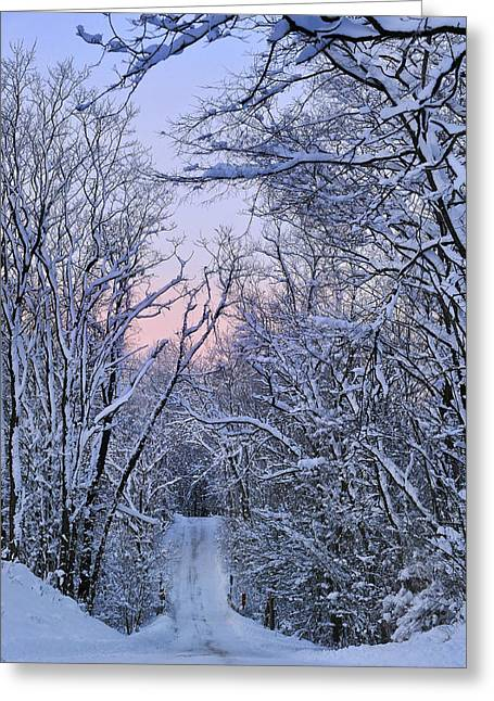Wonderland Road Greeting Card