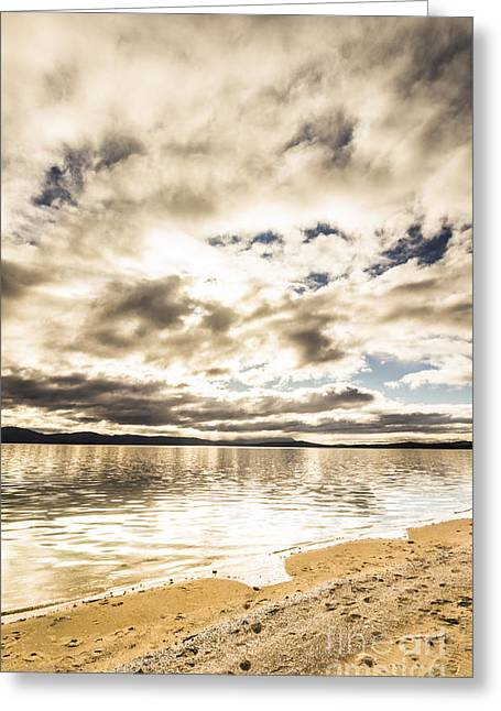 Wondrous Tropical Beach Greeting Card by Jorgo Photography - Wall Art Gallery