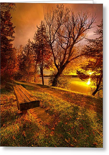 Won't You Please Come Home Greeting Card by Phil Koch