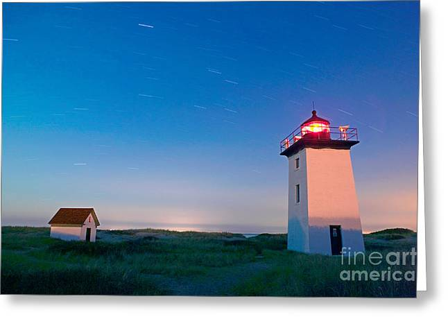 Wood End Lighthouse Provincetown Cape Cod Greeting Card by Matt Suess