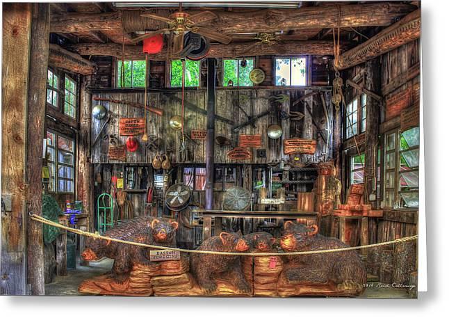 Wood Heaven Wears Valley Tn Greeting Card by Reid Callaway