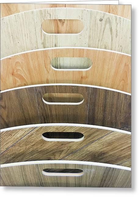 Wood Laminate Greeting Card by Tom Gowanlock