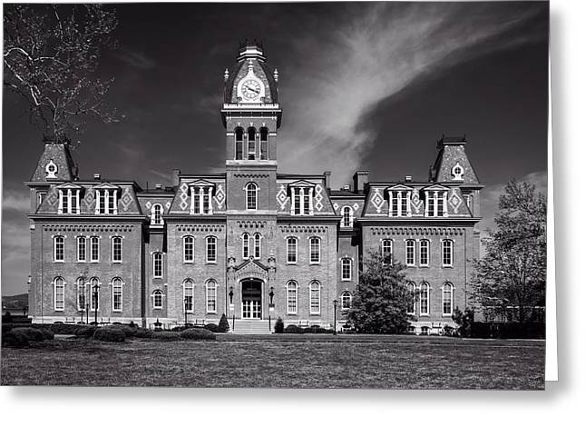 Woodburn Hall - West Virginia University Greeting Card by L O C