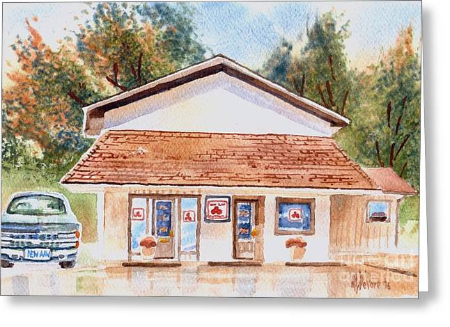 Woodcock Insurance In Watercolor  W406 Greeting Card