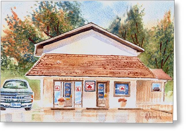 Woodcock Insurance In Watercolor  W406 Greeting Card by Kip DeVore