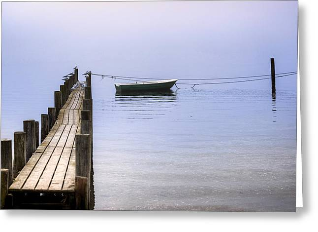Wooden Jetty Greeting Card