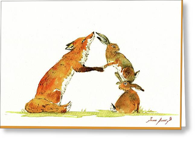 Woodland Letter Greeting Card