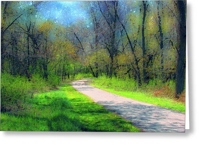Woodland Trail Greeting Card
