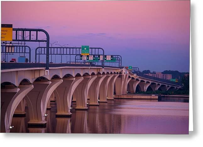 Woodrow Wilson Bridge Greeting Card
