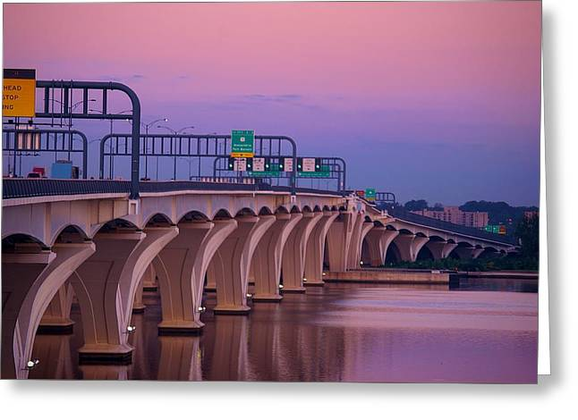 Woodrow Wilson Bridge Greeting Card