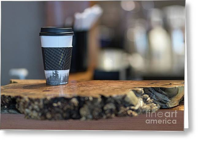 Greeting Card featuring the photograph Woods Coffee by Jim  Hatch