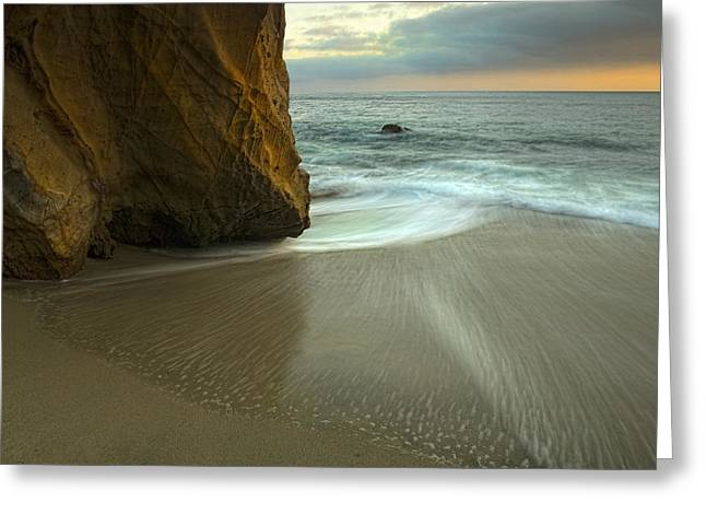 Wood's Cove Greeting Card by Gary Zuercher