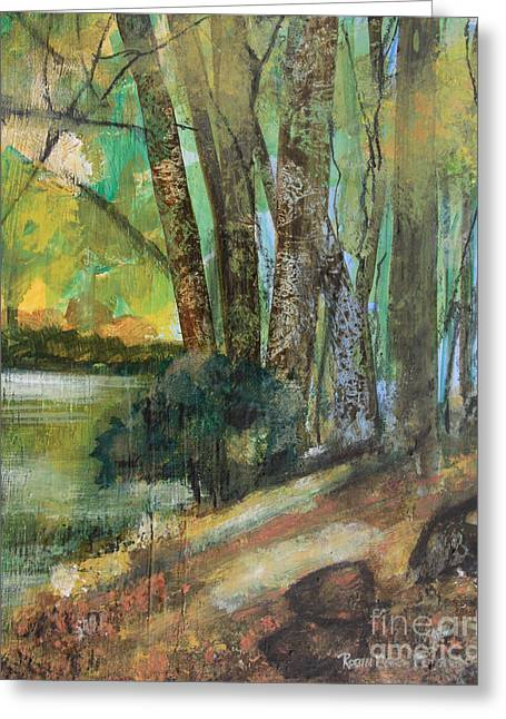 Woods In The Afternoon Greeting Card