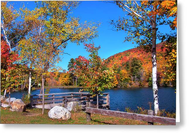 Woodward Reservoir - Plymouth, Vt Greeting Card