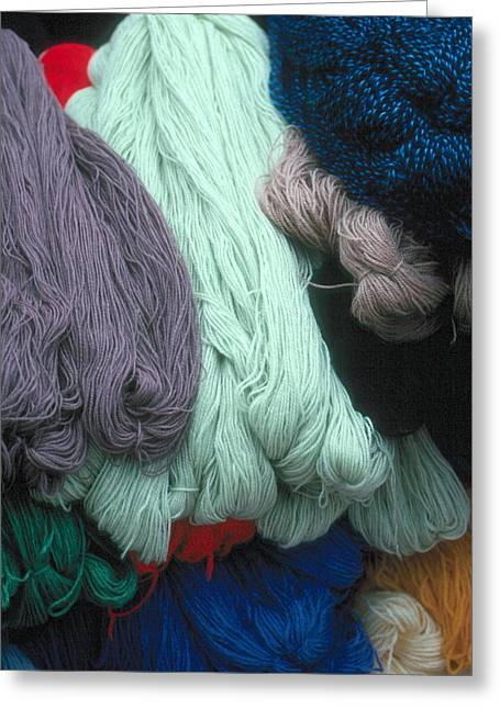 Greeting Card featuring the photograph Wool  by Douglas Pike