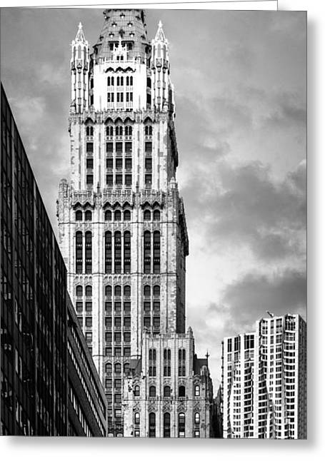 Greeting Card featuring the photograph Woolworth Building by Juergen Held