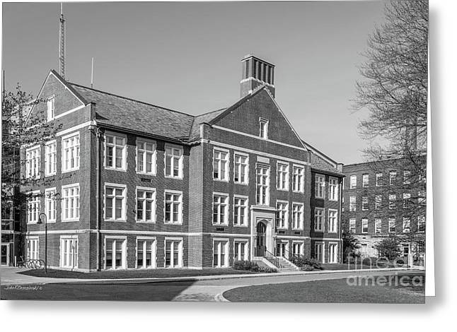 Worcester Polytechnic Institute Higgins Hall Greeting Card by University Icons