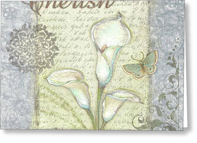 Word 2 Cherish Greeting Card